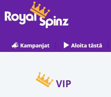 VIP ja Royal Spinz