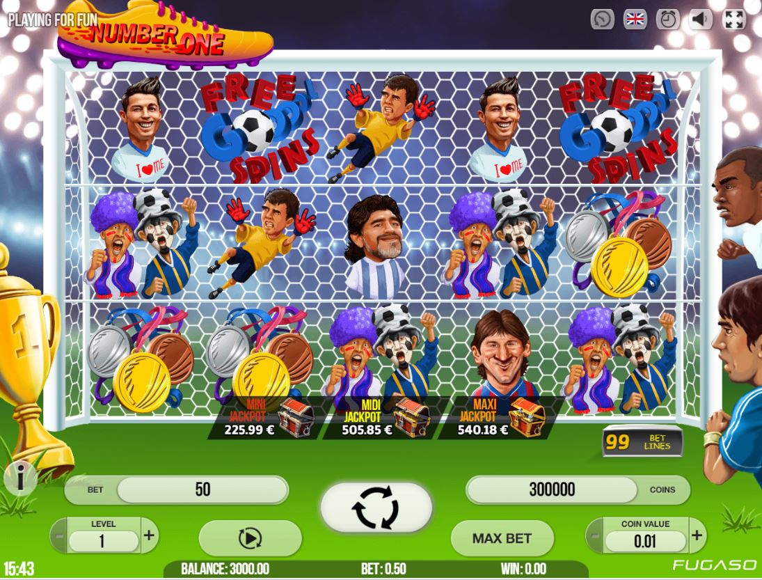 Jalkapalloaiheinen kolikkopeli