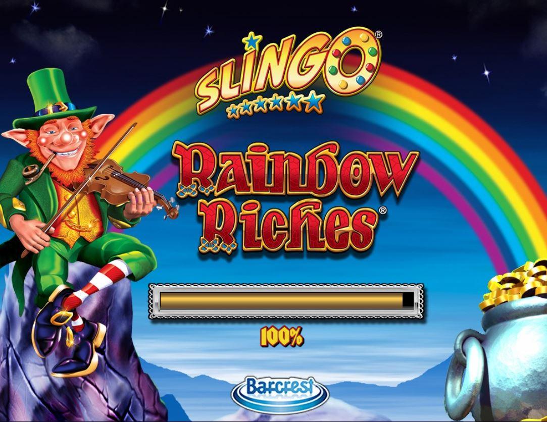 Slingo Rainbow slingopeli